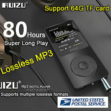 "1.8""TFT Screen RUIZU X02 HiFi 4G MP3 MP4 Player FM Recorder US Stock Fast USPS S"