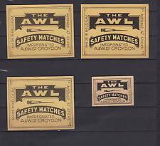 Ancienne étiquette   allumettes Belgique    AZ5733  Alêne