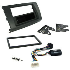 Suzuki Swift Double Din Fascia Panel w/ Steering Controls Car Stereo Fitting Kit