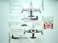 """CT-133 SILVER STAR  """"RCAF/BLACK KNIGHT 1991"""" SIGNIAGRAPH EDGELESS DECALS 1/72"""
