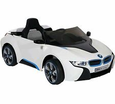 Ride On Toys Car For Kids Power Wheels BMW I8 6V Electric MP3 White * HOT SELLER
