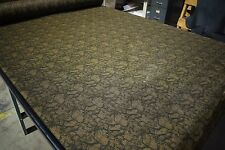 "Brown Green Camouflage Bug Mesh 66"" Wide Camo Fabric Hunting Mosquito Net Blind"