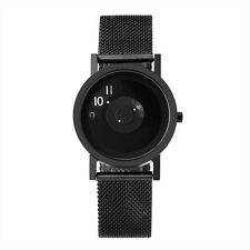"Projects Watches ""33mm Reveal Watch"" Quarzo Maglie d'Acciaio Nero Orologio Donna"