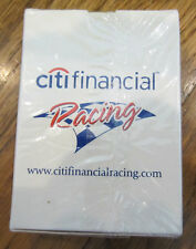Deck Of Playing Cards Sealed Nip New Citi Financial Racing Flag