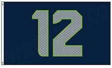 Seattle Seahawks | 3x5 12th Man Outdoor Flag (Best Quality)