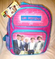 """One Direction Louis Tomlinson,Niall Horan,Liam Payne+Harry Styles 16"""" Backpack"""