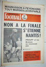 FRANCE FOOTBALL 1258 12/05 1970 FINALE C1 FEYENOORD CHAMPION PUSKAS ZAGALO COUPE