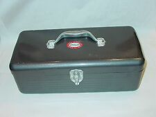 Vintage Simonsen Quality Metal Tackle Crafts Tool Box Handle Hasp Tray Durable