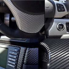 "12"" x 60"" 4D Carbon Fiber Vinyl Decal Sheet Film Car Auto Air Release WYS Sales"