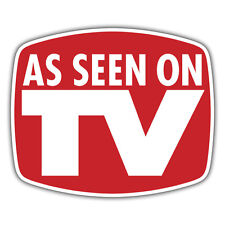 AS Seen on TV adesivo 99 x 83mm YouTube