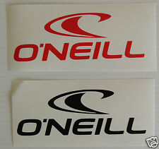 2 X O'Neill Sticker/Decal- Surfing/Watersports/ Skateboarding/Bmx