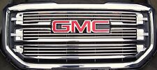 2016-2017 GMC Sierra 1500 SLT 3pc Billet Grille -All Black