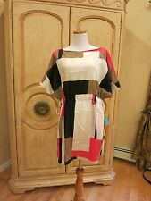 kate spade cover up dress mykonos Color Block Mini Dress NWT M L