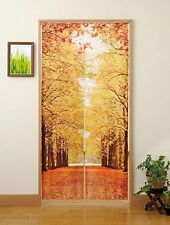 JAPANESE Noren Curtain TREE Avenue NEW LONG SIZE
