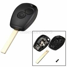 2 Button Fob Shell Remote Key Case Blade For Renault Modus Clio 3 Twingo Kangoo