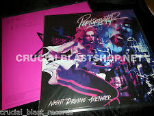 "PERTURBATOR Night Driving Avenger 12"" dark heavy synthwave kavinsky com truise"