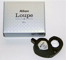 Nikon jewelry appraisals loupe 10X For Professional Genuin Article MADE IN JAPAN