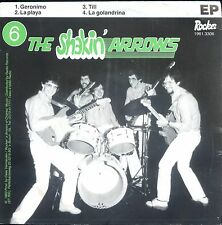 7inch THE SHAKIN ARROWS geronimo EP HOLLAND NEAR MINT ROCKABILLY