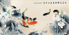 Fine Art Prints On Canvas Prints Modern Wall Art Décor Koi Painting Koi Fish Art
