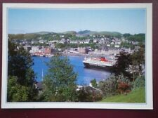 POSTCARD ARGYLLSHIRE OBAN FROM PULPIT HILL - FERRY ARRIVING