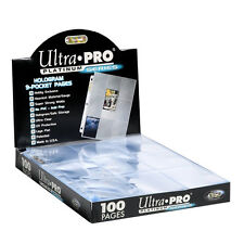 500 ULTRA PRO PLATINUM 9-POCKET Pages Sheets Protectors Brand New in Box