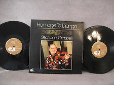 Stephane Grappelli, Homage To Django, Classic Jazz Records CJ 23, 1976, 2 LPs