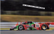 "9x6 Photo  Herbert / Weidler / Gachot  Mazda 787B  Le Mans 24hrs 1991  ""Winner"""