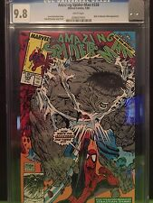 AMAZING SPIDER-MAN #328 CGC NM/MT 9.8; White pg!; Hulk by McFarlane!