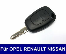 Key Casing with Blank for Renault Trafic Master Dci Nissan Interstar