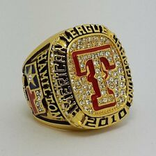 2010 Texas Rangers American League Championship ring size 11 Solid New Year Gift
