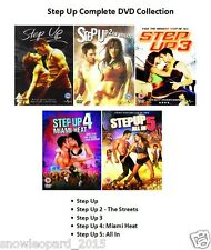 STEP UP PENTOLOGY MOVIE COLLECTION DVD SET All 1 2 3 4 5 Film - New Sealed
