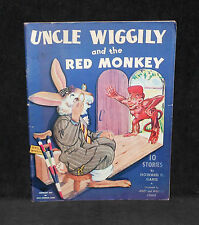Uncle Wiggily & the Red Monkey by Howard Garis - Mary Stover art - 1943 1st