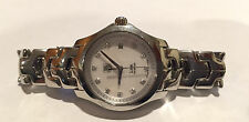Tag Heuer Ladies Link Diamond Stainless Steel Mother Of Pearl Watch WJF1317