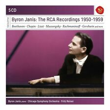 BYRON JANIS - BYRON JANIS-THE RCA RECORDINGS 1950-1959  5 CD NEU
