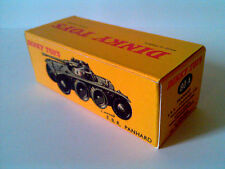 Boîte copie repro Dinky Toys 80A EBR panhard armoured car ( reproduction box )