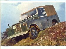 Land Rover Series II GREETING CARD + ENVELOPE - BRAND NEW!!