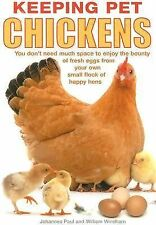Keeping Pet Chickens: You don't need much space to Enjoy the Bounty of-ExLibrary