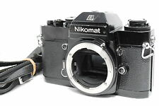 Nikon Nikomat EL 35mm SLR Film Camera Black Body #3