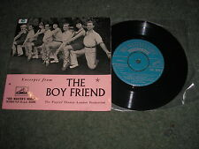 THE BOYFRIEND-THEATRE ORIGINAL CAST SOUNDTRACK E.P. HMV 7EG 8226 VINYL NEAR MINT