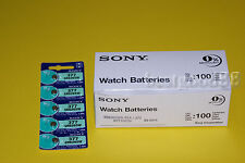 Sony SR626SW 377 SR626 AG4 Silver Oxide Watch Battery x 100