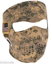 Face Mask - Army Combat Uniform Neoprene Snowmobile/Motorcycle Helmet Face Mask