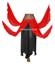 TMS Mix 8 Petal Skirts Belly Dance Penal Gypsy Costume Tribal Troup Club Boho