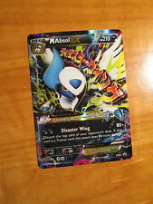 EX Mega M ABSOL EX Pokemon Card PROMO Black Star XY63 Set Ultra Rare X&Y TCG