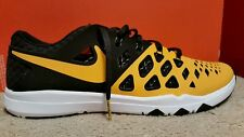 NIKE TRAIN SPEED 4 AMP NFL Size 10.5 Pittsburgh Steelers 848587-714 Mens Sh