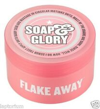 Soap&Glory Flake Away Body Polish 50ml SHEA BUTTER, SUGAR & PEACH SEED