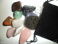 Gemstone & Crystal Pirate Treasure Bag + Lucky Coin Favour Kids Party Bags Gifts