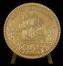Médaille Médio Tutissima Les armateurs français 1953 french shipowners medal