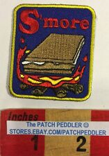 Patch ~ S'more Fun Campfire Camping Chocolate Marshmallow Graham Cracker 59JJ
