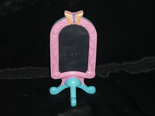 Loving Family Dollhouse Size Blue & Pink Bedroom Butterfly Mirror