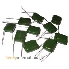 10x 330nF 100V POLYESTER CAPACITORS GreenCAPs - AUS STOCK